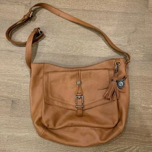 The Sak Tan Crossbody Bag